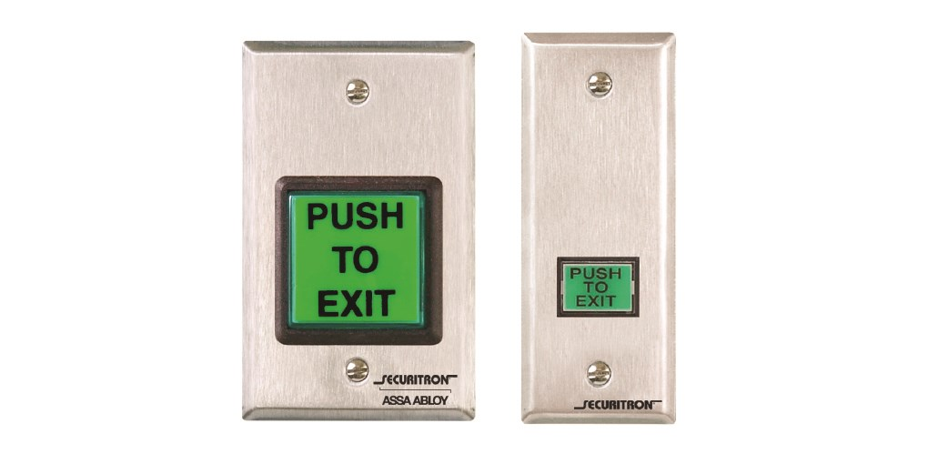 securitron emergency exit buttons